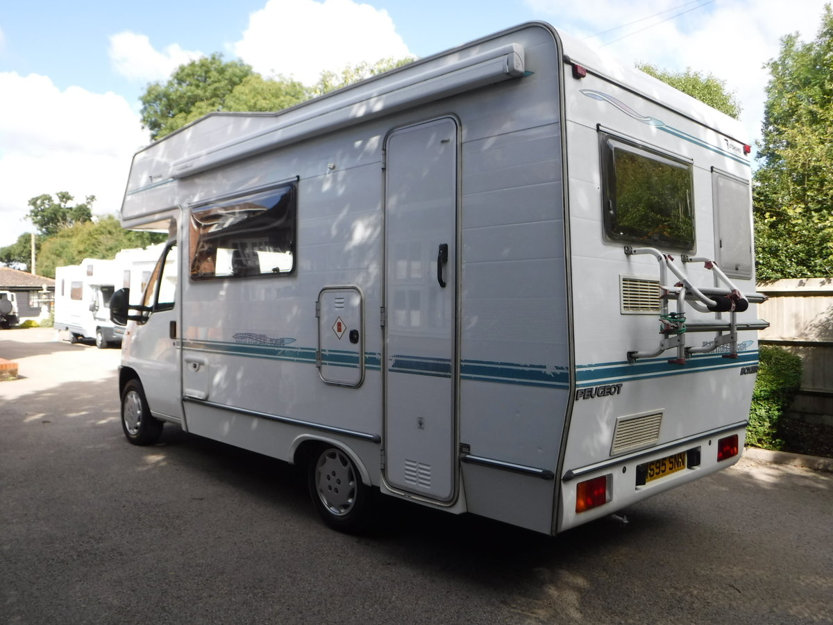 2000 Peugeot BOXER 270 MWB C/C 1.9TD Wayarer Equipe For Sale (picture 2 of 6)