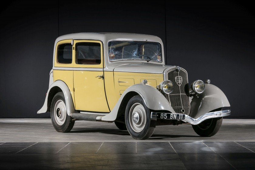 1934 Peugeot 201 BR Coach - No reserve For Sale by Auction (picture 1 of 6)