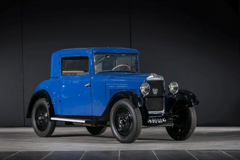 1932 Peugeot 201 E Coupé de Luxe - No reserve For Sale by Auction (picture 1 of 6)