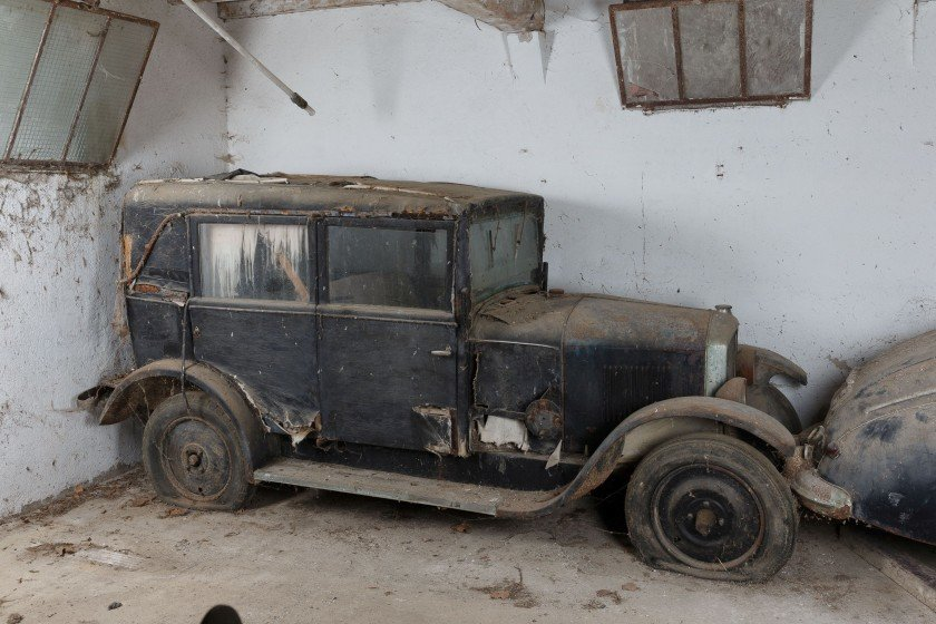 1929 Peugeot 177 R Berline Commerciale Weymann - No reserve For Sale by Auction (picture 1 of 6)