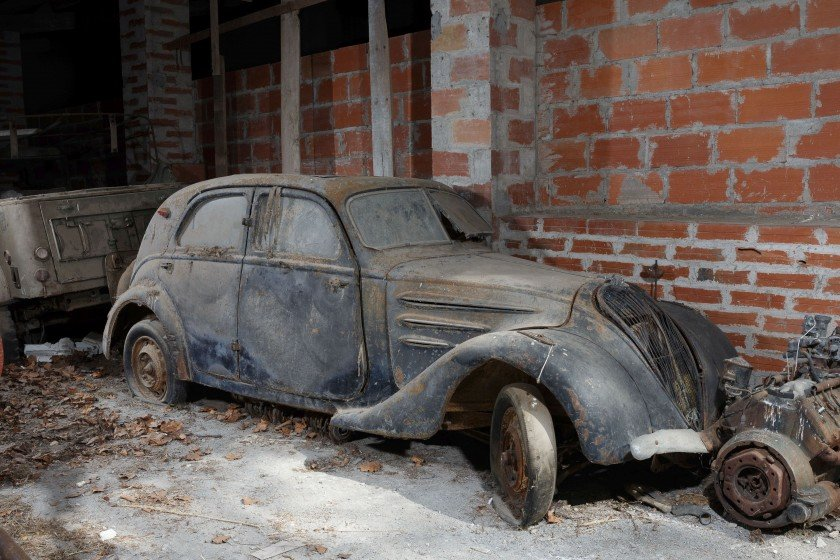 1938 Peugeot 302 Berline - No reserve For Sale by Auction (picture 1 of 6)