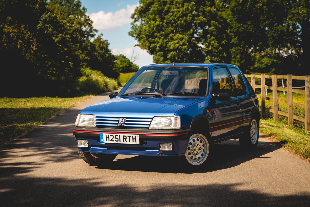 1991 Peugeot 205 GTI 1.6 - Phase 2, Miami Blue, For Sale (picture 1 of 6)