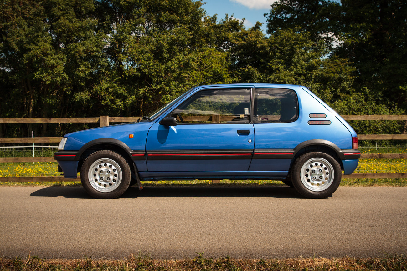 1991 Peugeot 205 GTI 1.6 - Phase 2, Miami Blue, For Sale (picture 2 of 6)
