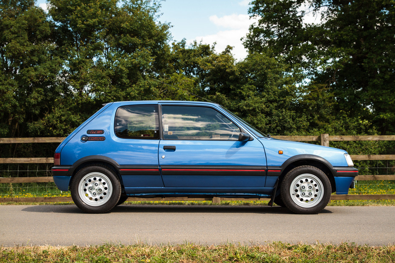 1991 Peugeot 205 GTI 1.6 - Phase 2, Miami Blue, For Sale (picture 3 of 6)