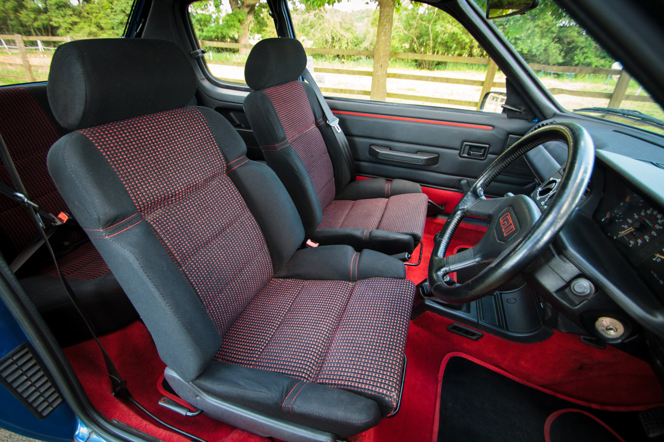 1991 Peugeot 205 GTI 1.6 - Phase 2, Miami Blue, For Sale (picture 4 of 6)