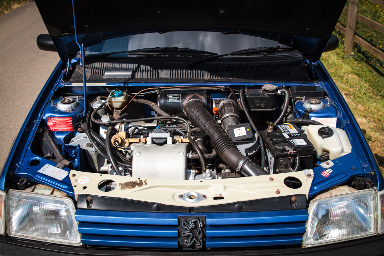 1991 Peugeot 205 GTI 1.6 - Phase 2, Miami Blue, For Sale (picture 5 of 6)