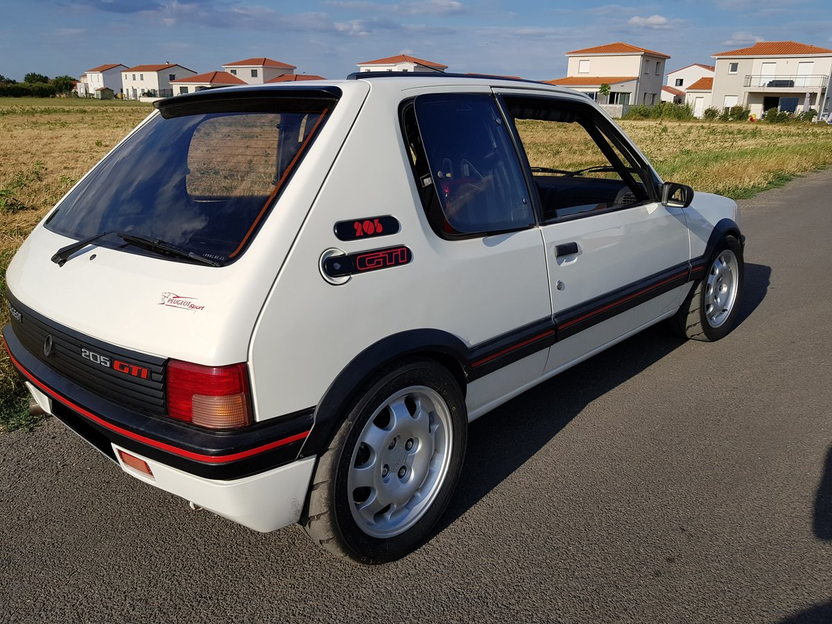 1987 205 GTI Swap T16 LHD For Sale (picture 1 of 6)