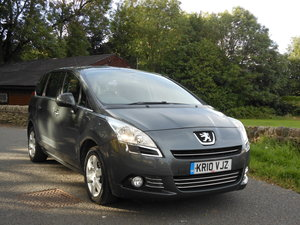 2010 Peugeot 5008 1.6 HDI Sport 7 Seats 6 SPD 1 Former Keepe For Sale