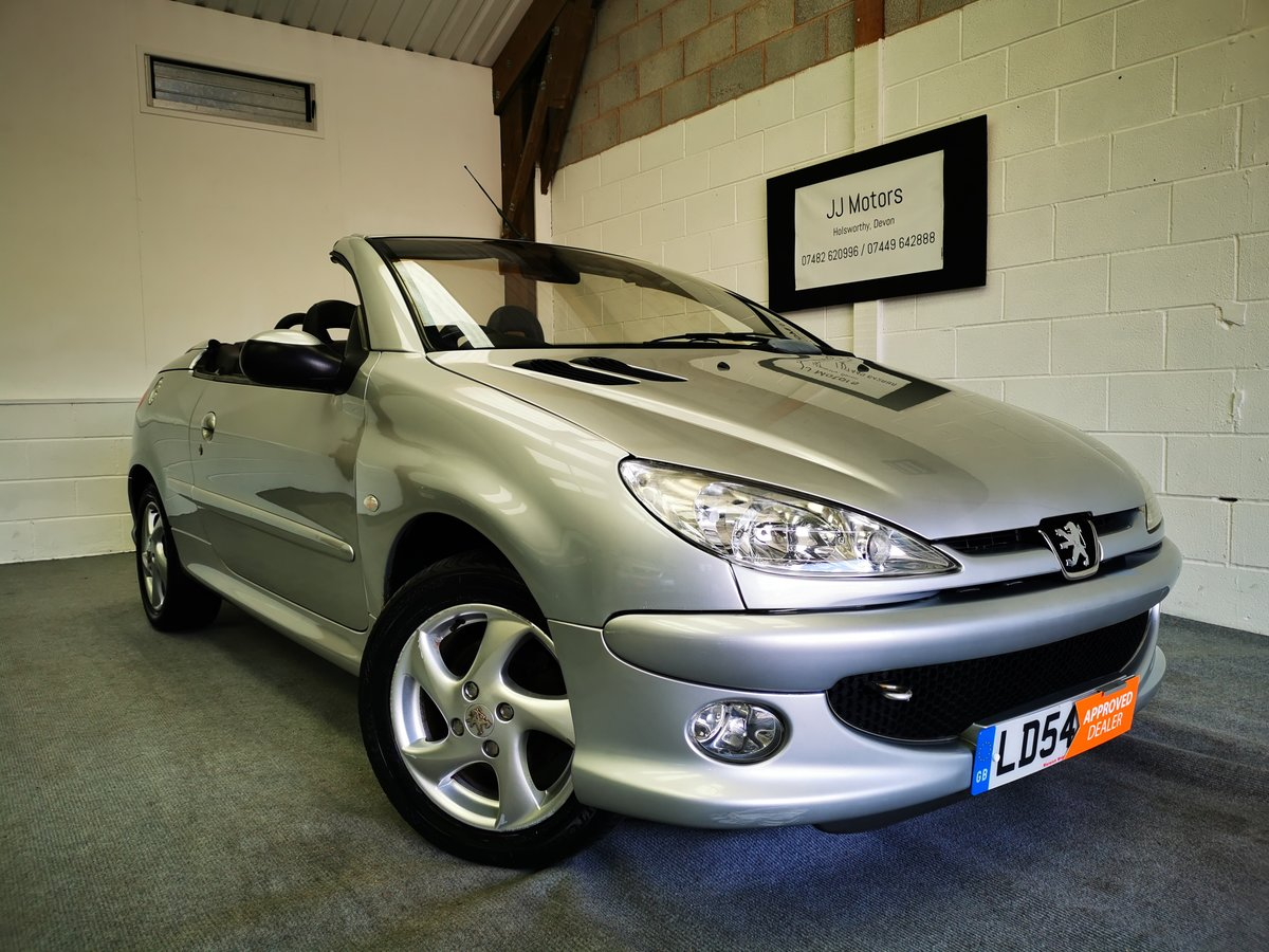 2004 Peugeot 206 1.6 Allure Coupe/Cabriolet *MOT'd 15/07/21* SOLD (picture 1 of 6)