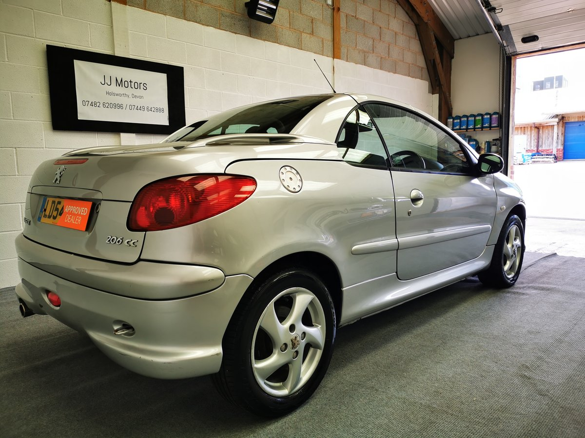 2004 Peugeot 206 1.6 Allure Coupe/Cabriolet *MOT'd 15/07/21* SOLD (picture 6 of 6)