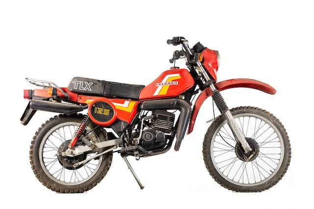 C.1982 PEUGEOT TLX 125 (LOT 535) SOLD by Auction (picture 1 of 1)
