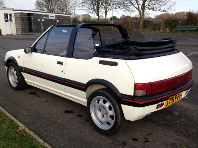 1992 Peugeot Cabriolet CTI (GTI) 1.9L 5 speed man For Sale (picture 3 of 6)