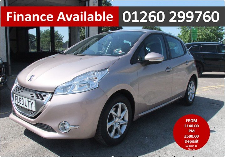 2013 PEUGEOT 208 1.4 ACTIVE E-HDI 5DR AUTOMATIC SOLD (picture 1 of 6)