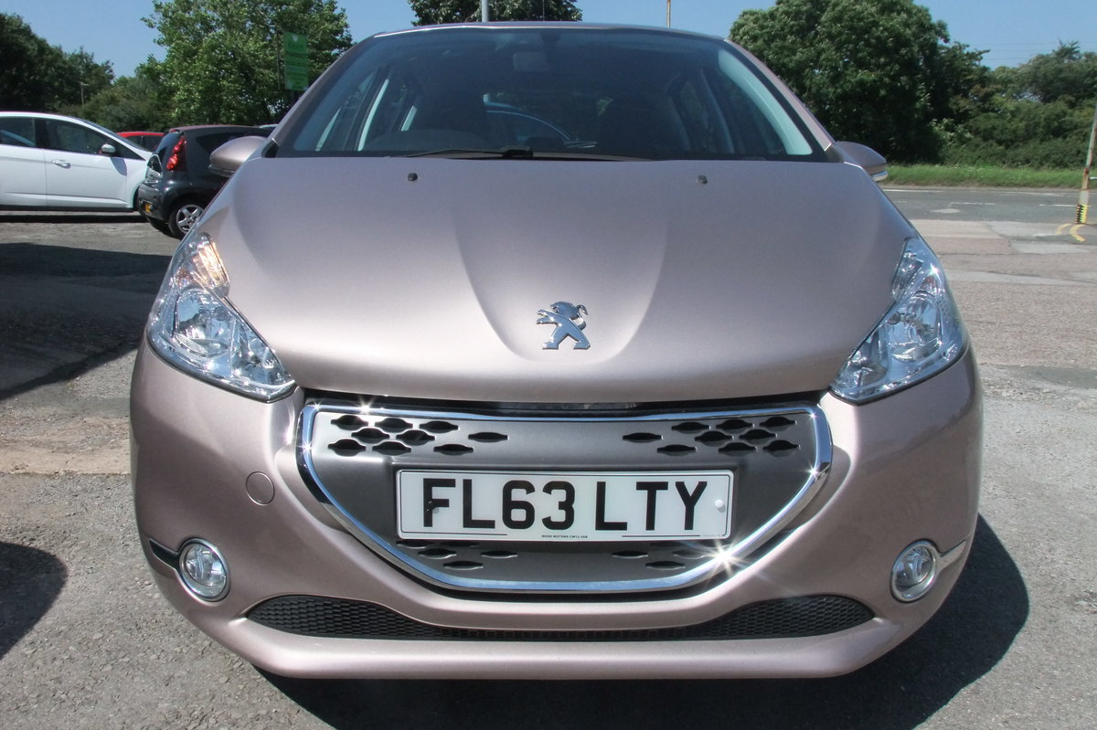 2013 PEUGEOT 208 1.4 ACTIVE E-HDI 5DR AUTOMATIC SOLD (picture 4 of 6)