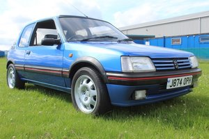 1991 Peugeot 205 GTi - MOT August 2021  For Sale by Auction