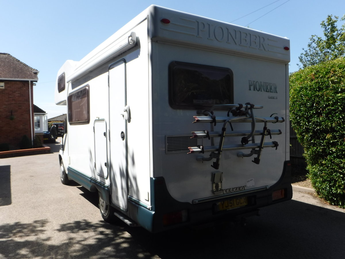 2002 Peugeot BOXER 270 MWB C/C 1.9TD PIONEER CLASSIC 4 270 For Sale (picture 3 of 6)