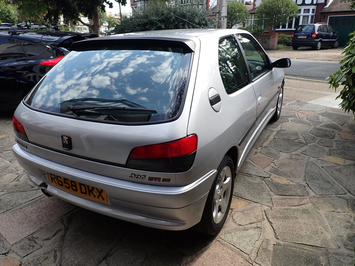 1998 Peugeot 306 GTi-6 Silver - a Drivers Car SOLD (picture 2 of 6)