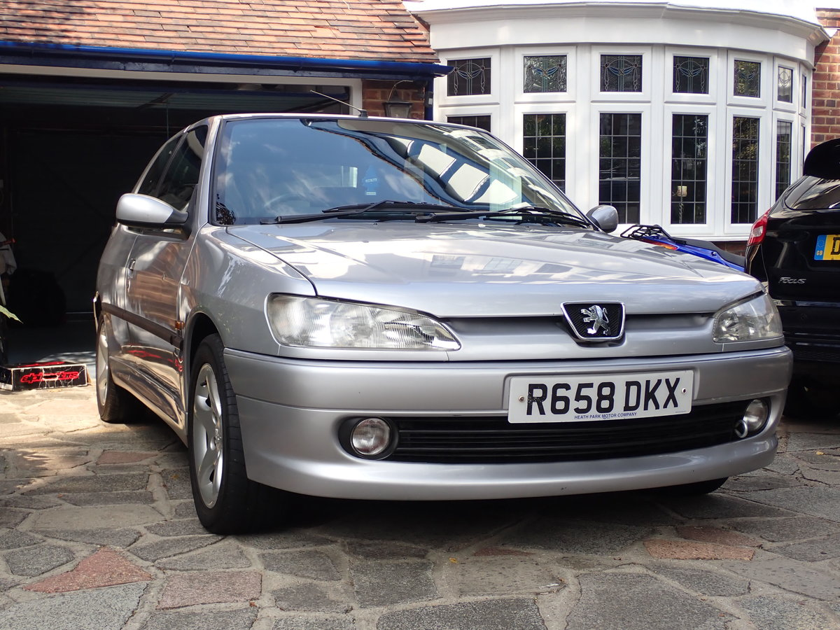 1998 Peugeot 306 GTi-6 Silver - a Drivers Car SOLD (picture 6 of 6)