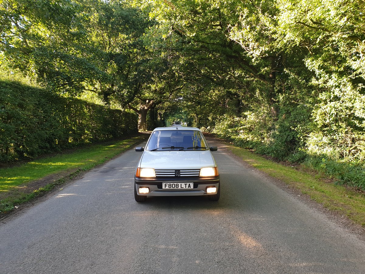 1989 Peugeot 205 XS - PROVISIONALLY SOLD - SOLD (picture 1 of 6)