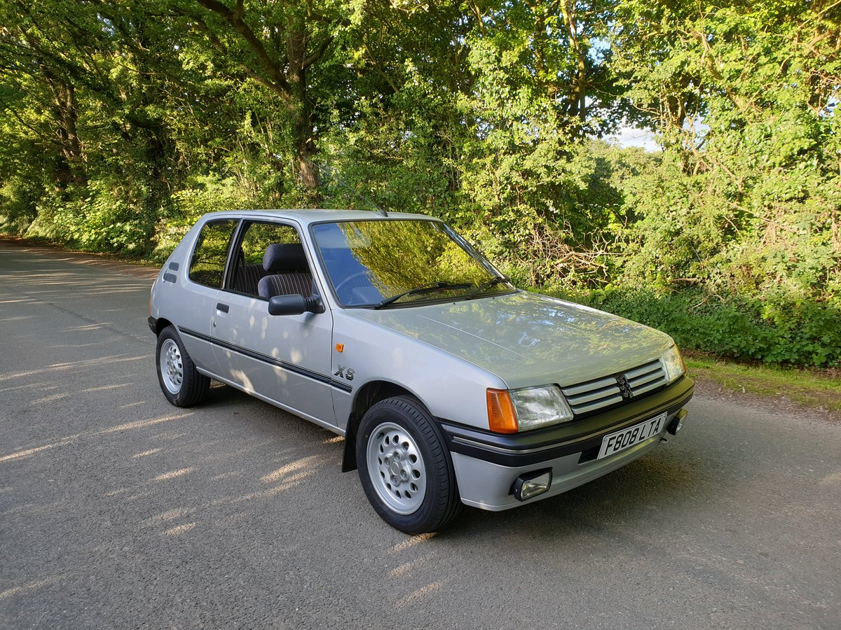 1989 Peugeot 205 XS - PROVISIONALLY SOLD - SOLD (picture 2 of 6)