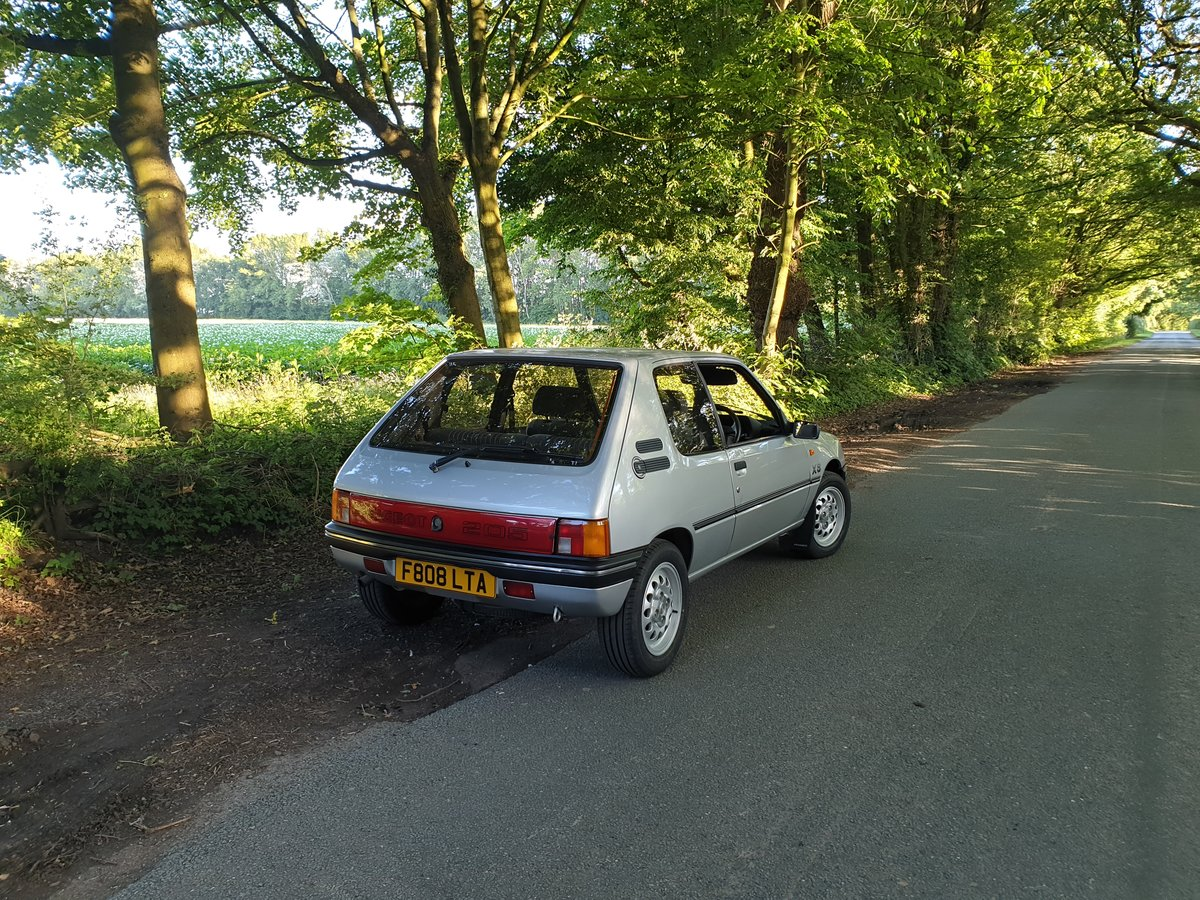 1989 Peugeot 205 XS - PROVISIONALLY SOLD - SOLD (picture 3 of 6)