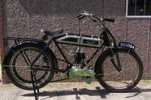 1913 Peugeot 500cc 3.5 h.p. Single  Motorcycle