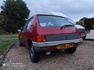 Peugeot 205 XL. V.Low 33k miles.