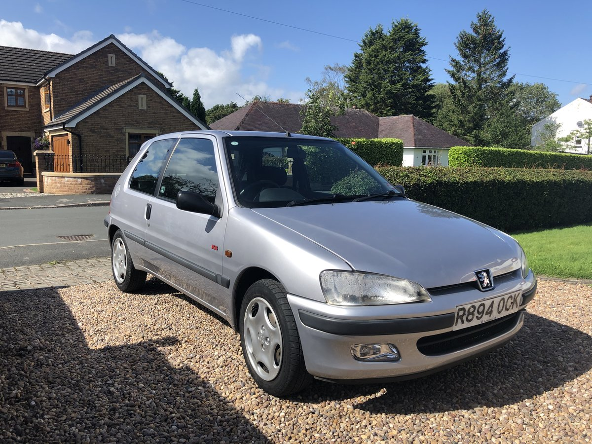 1997 Peugeot 106 XS 1.6L For Sale (picture 1 of 6)