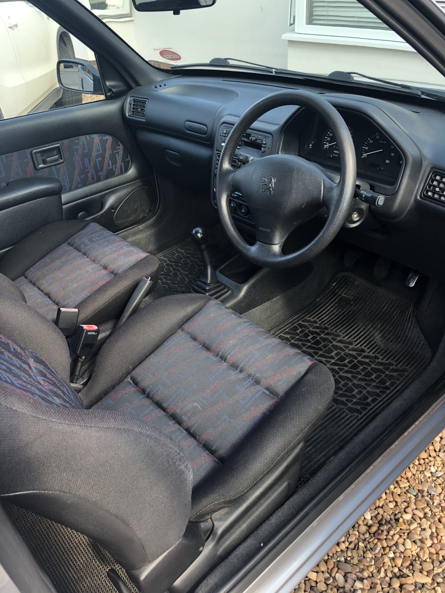 1997 Peugeot 106 XS 1.6L For Sale (picture 4 of 6)