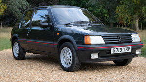 PEUGEOT 205 GTI 1.6, LOW MILEAGE, GREAT HISTORY!