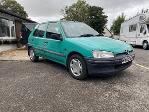 1998 Peugeot 106 1 owner from new FSH