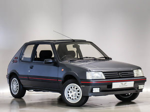 1991 205 1.6 GTI with Sliding Panoramic Roof