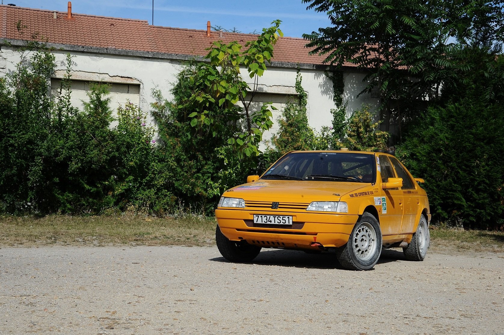1989 Peugeot 405 MI 16 4x4 Proto «Grand Raid » For Sale by Auction (picture 1 of 5)