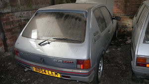 1985 Very early Peugeot 205 GTI phase 1