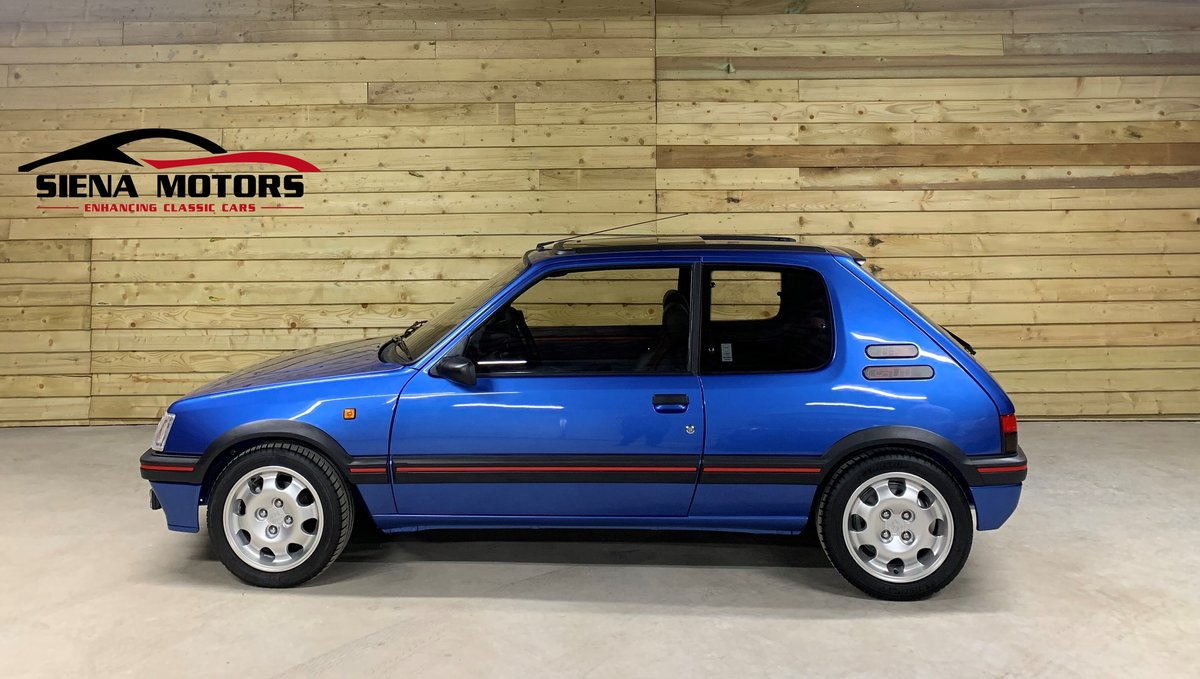 1990 PEUGEOT 205 GTi 1.9         NOW SOLD For Sale (picture 1 of 6)