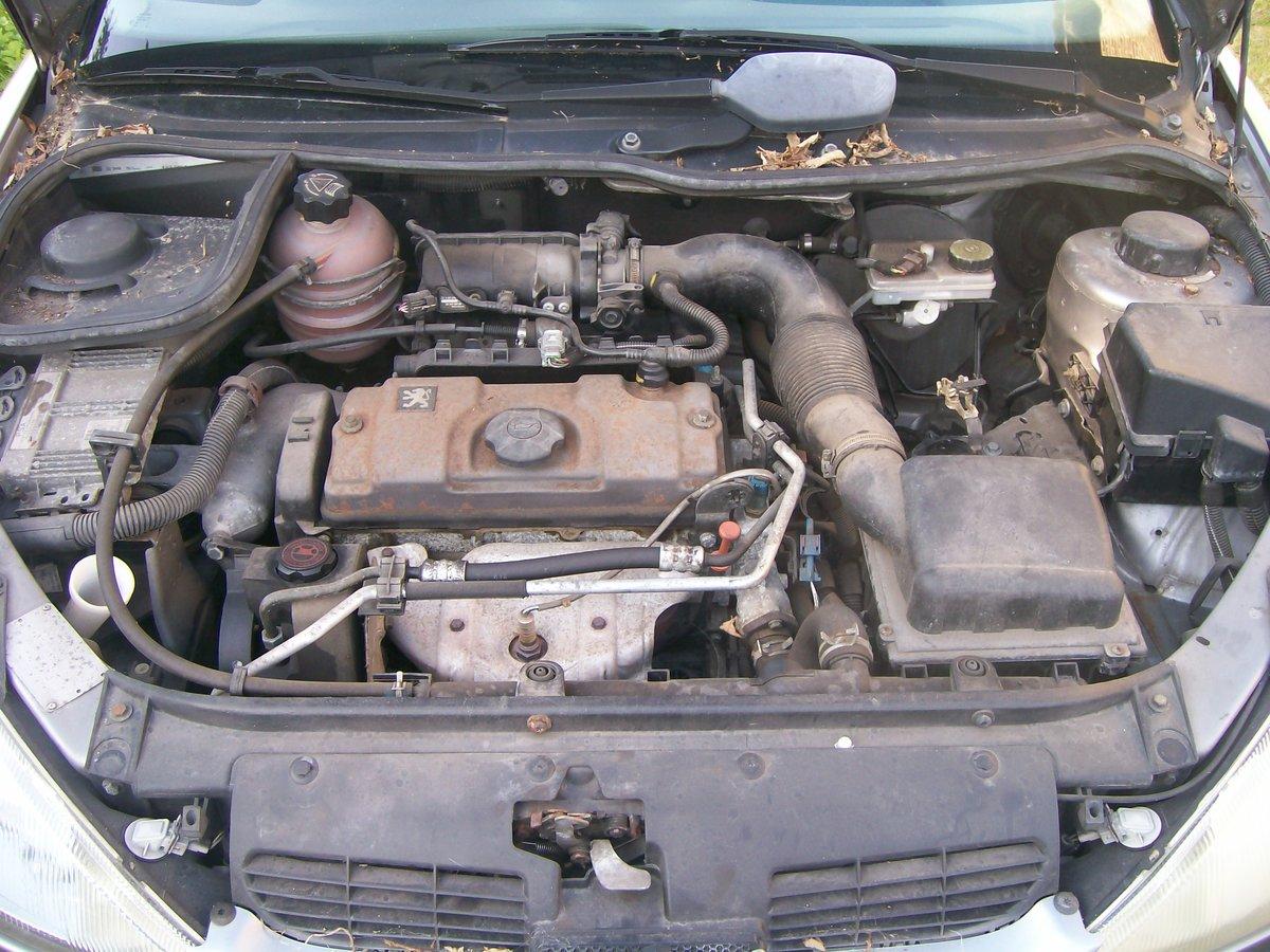 Peugeot 206 LX 1.4 Grey 2002 Reg 3 door spares breaking For Sale (picture 6 of 6)