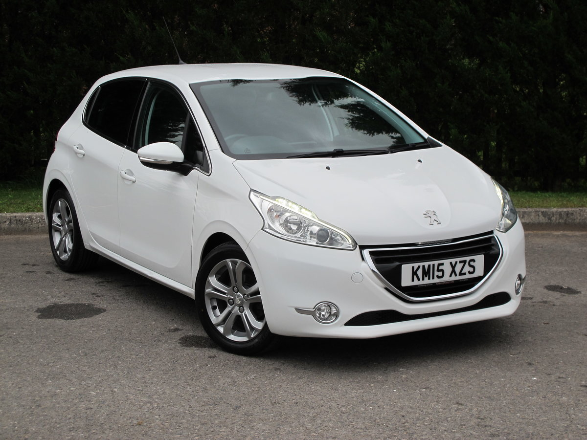 2015 Peugeot 208 1.2 Allure 5dr Manual For Sale (picture 1 of 6)