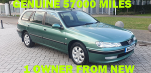 Peugeot 406 2.0 hdi 110 lx estate 1 owner from new