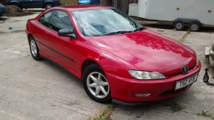 1999 Peugeot 406 Coupe 2L manual
