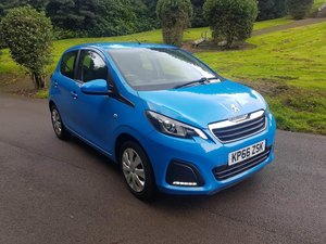2016 PEUGEOT 108 ACTIVE 5 DOOR HATCHBACK