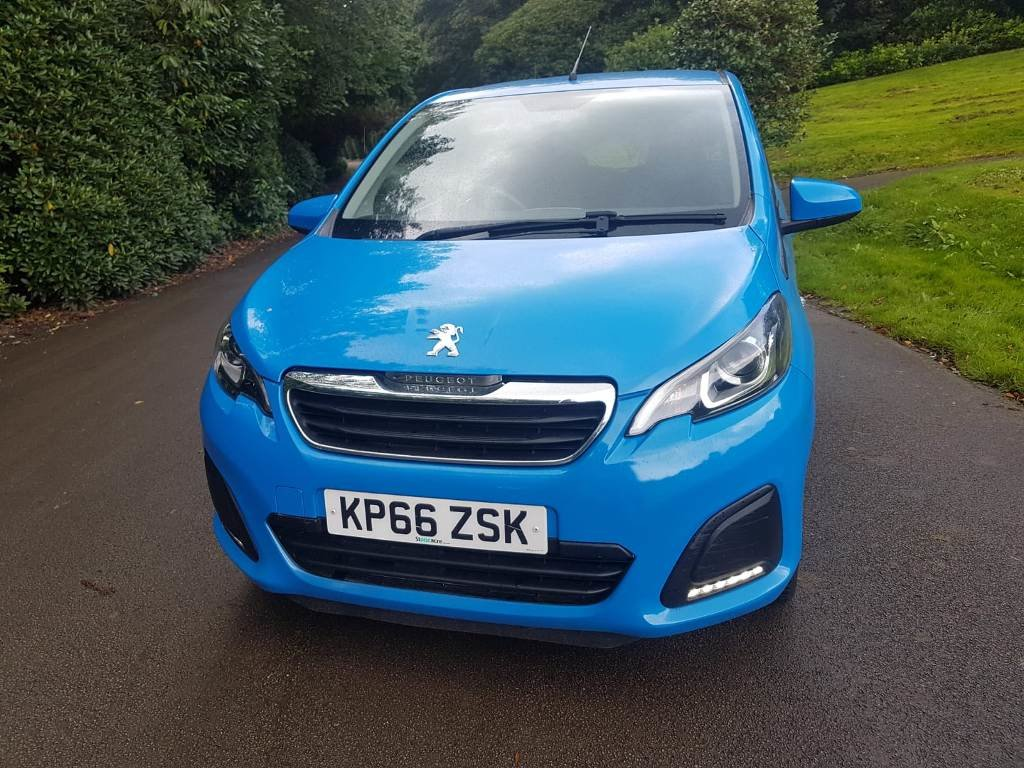 2016 PEUGEOT 108 ACTIVE 5 DOOR HATCHBACK For Sale (picture 6 of 6)