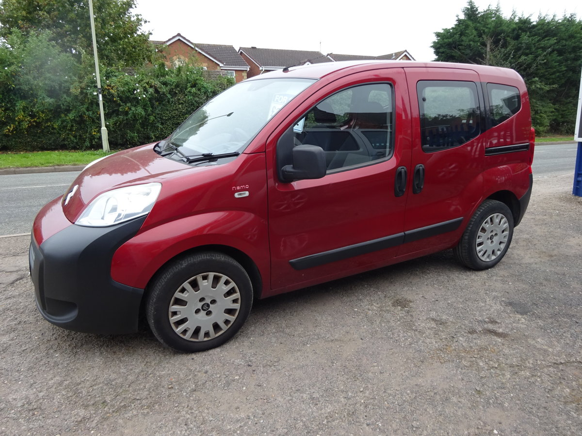 2010  UESFULL MPV DIESEL 1400cc 5 SPEED NEMO IN RED LONG MOT  For Sale (picture 2 of 6)