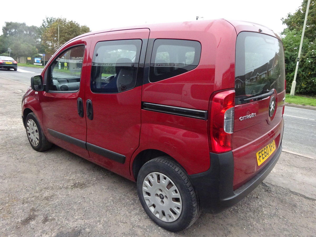 2010  UESFULL MPV DIESEL 1400cc 5 SPEED NEMO IN RED LONG MOT  For Sale (picture 3 of 6)