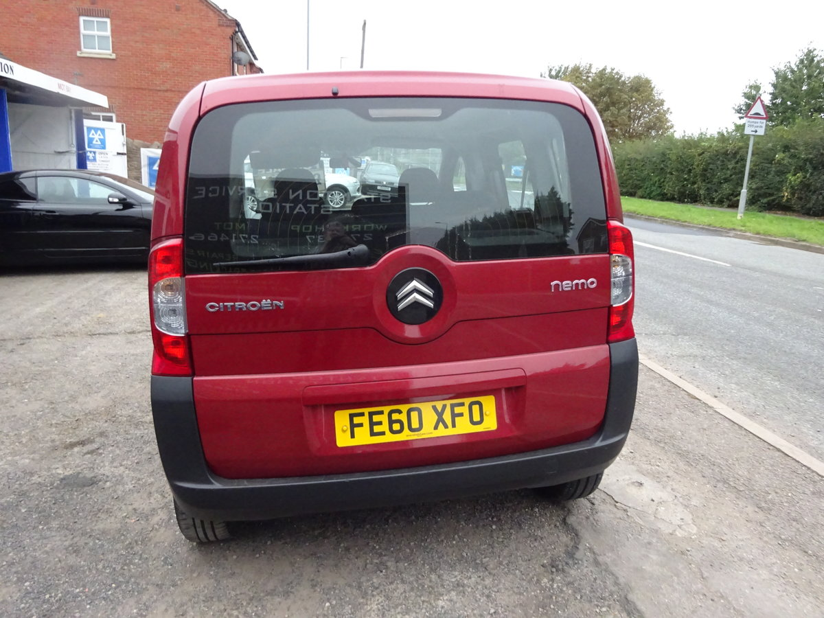 2010  UESFULL MPV DIESEL 1400cc 5 SPEED NEMO IN RED LONG MOT  For Sale (picture 4 of 6)