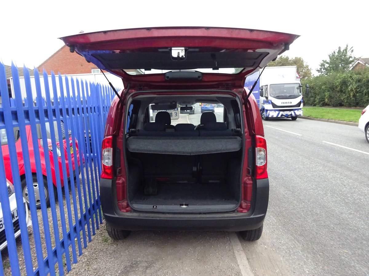 2010  UESFULL MPV DIESEL 1400cc 5 SPEED NEMO IN RED LONG MOT  For Sale (picture 5 of 6)