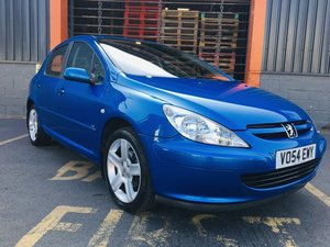 2004 PEUGEOT 307 XSi 1.6hdi only 37000 miles FSH 1 Owner