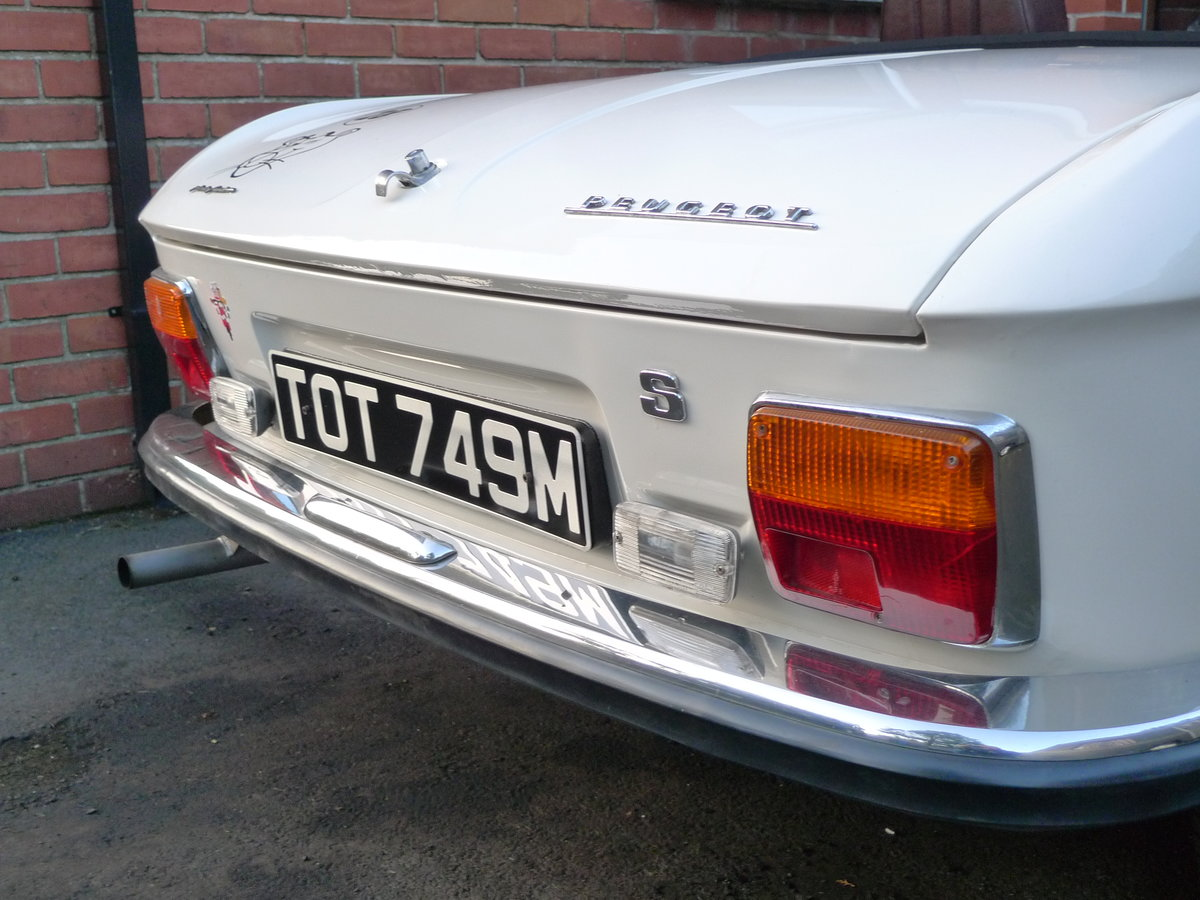 1974 Peugeot 304s cabriolet  For Sale (picture 4 of 6)