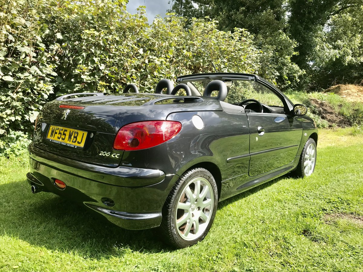 2005 Peugeot 206 CC 1 owner 22300 miles For Sale (picture 1 of 6)