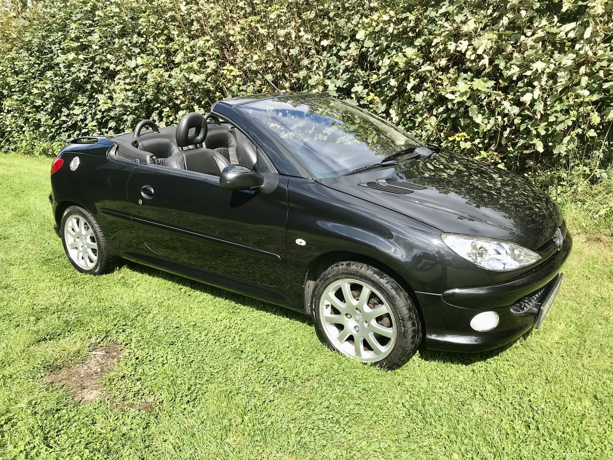 2005 Peugeot 206 CC 1 owner 22300 miles For Sale (picture 4 of 6)