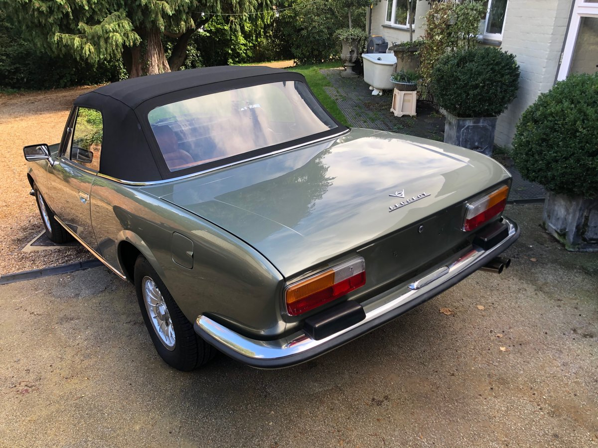 1975 Peugeot 504 V6 Cabriolet by Pininfarina For Sale (picture 5 of 6)